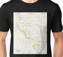 USGS TOPO Map California CA Burrel 288688 1954 24000 geo Unisex T-Shirt