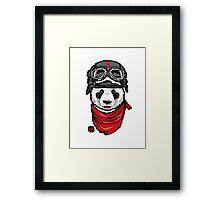 Cool Panda Design Framed Print