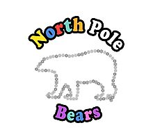 North Pole Bears Photographic Print