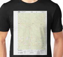 USGS TOPO Map California CA Blue Creek Mountain 20120323 TM geo Unisex T-Shirt