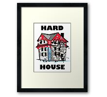 GTA Hard House Framed Print