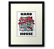 GTA Hard House Framed Print