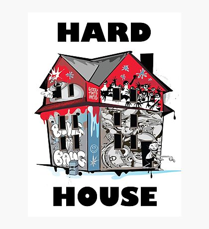 GTA Hard House Photographic Print