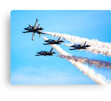 Breitling Jet Team Canvas Print