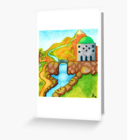 Elvin Temple Greeting Card