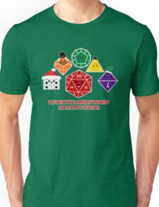 Polyhedral Pals - Merry CritMiss! Unisex T-Shirt