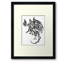 Tribal Dragon Framed Print