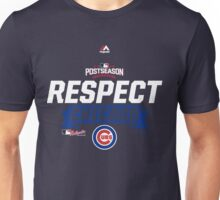 RESPECT CHICAGO CUBS Unisex T-Shirt