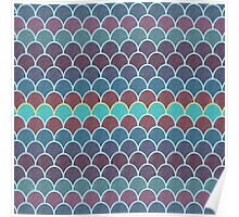 Watercolor Lovely Pattern X Poster