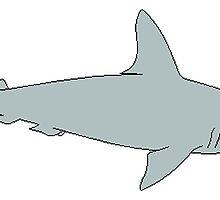 Hammerhead Shark by kwg2200