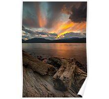 Harrison Lake, British Columbia, Canada Poster