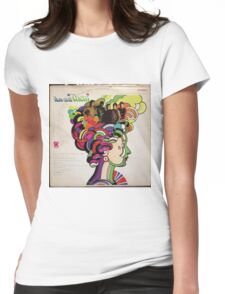 Now and Them, Psychedelic Garage Rock lp Womens Fitted T-Shirt