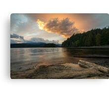Harrison Lake, British Columbia, Canada Canvas Print