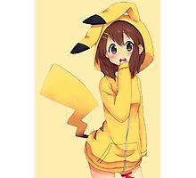 K-ON x Pikachu Photographic Print