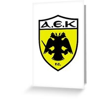 AEK Athens Greeting Card