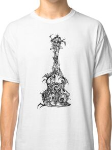 Tribal Guitar Classic T-Shirt