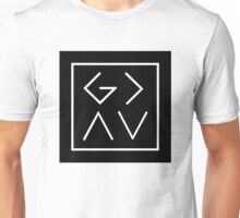 God is Greater than the Highs and the Lows (Square) Unisex T-Shirt
