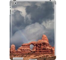 Rainbow Over Turret Arch iPad Case/Skin