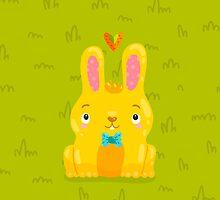 Cute Bunny by kostolom3000