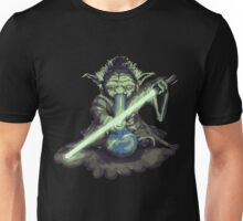 """Yoda - """"Lightsabor Bong"""" Unisex T-Shirt"""