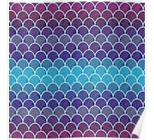 Watercolor Lovely Pattern XI Poster