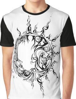 Tribal Sun and Moon Graphic T-Shirt