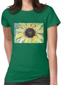 Helianthus annus (Sunflower) Womens Fitted T-Shirt