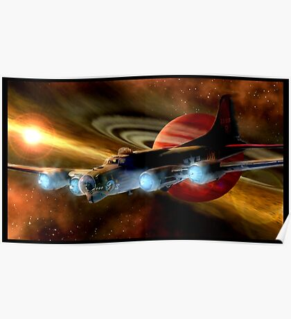 Space Ship B17  Poster