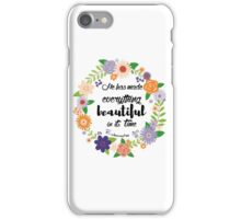Ecclesiastes 3:11 iPhone Case/Skin