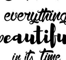 Ecclesiastes 3:11 Sticker