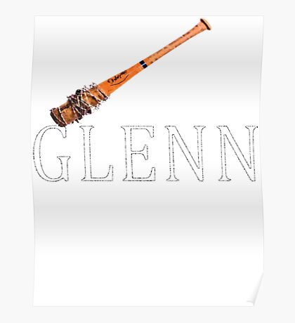 glenn dead by baseball bat Poster