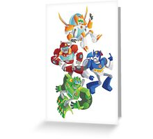 Rescue Bots: Fall to the Rescue Greeting Card