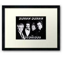 Duran Duran Notorious Framed Print