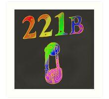 Rainbow 221B Art Print