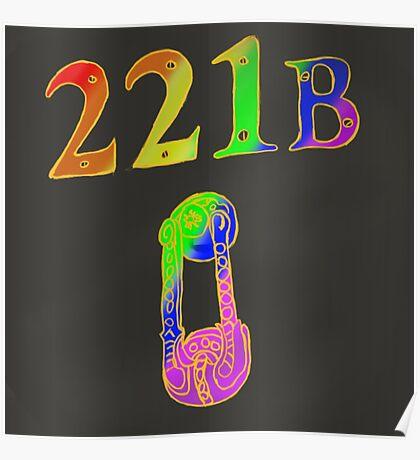 Rainbow 221B Poster