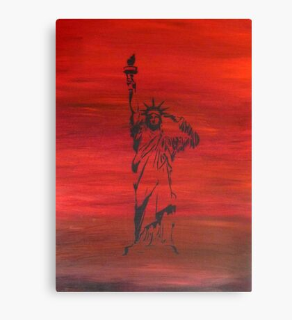 The price of liberty is steep Canvas Print