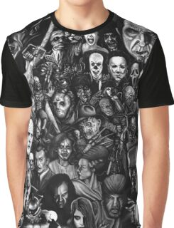 Retro horror movie Graphic T-Shirt