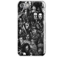 Retro horror movie iPhone Case/Skin