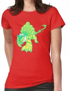 Neon Tiger Womens Fitted T-Shirt