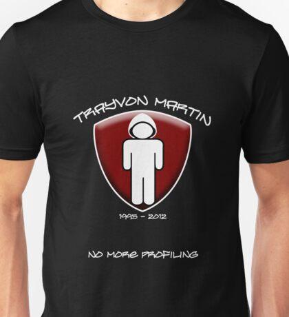 Trayvon Martin - No More Profiling Unisex T-Shirt