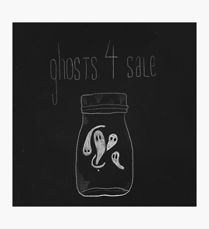 Ghosts for Sale Photographic Print