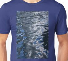 Dreaming of Silk Dresses - Mesmerizing Liquid Curls, Twists and Zigzags Unisex T-Shirt