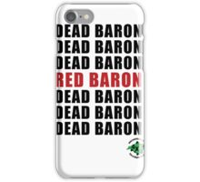 Red Baron iPhone Case/Skin