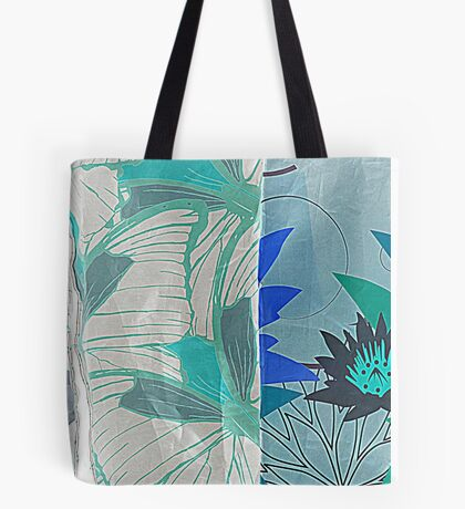 colored fabrics background Tote Bag