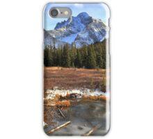 Elbow pass creek II iPhone Case/Skin