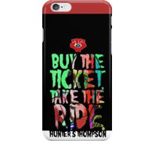 HUNTER s THOMPSON iPhone Case/Skin