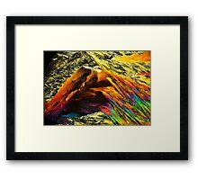 Aspirin Mountain Framed Print