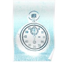old pocket watch Poster