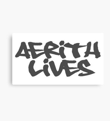 Aerith LIVES! Canvas Print