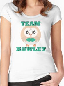 Team Rowlet Women's Fitted Scoop T-Shirt